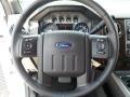 2012 White Platinum Metallic Tri-Coat Ford F250 Super Duty Lariat Crew Cab 4x4  photo #37