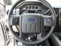2012 Sterling Grey Metallic Ford F250 Super Duty Lariat Crew Cab 4x4  photo #37