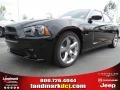 Pitch Black 2012 Dodge Charger Gallery