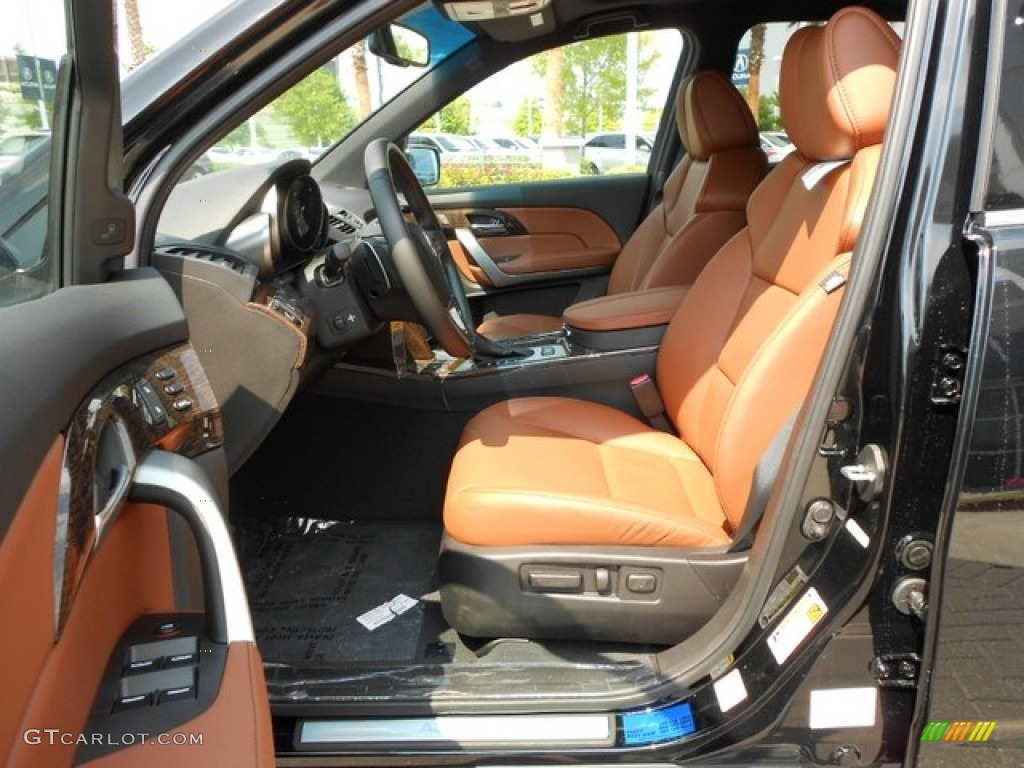 umber interior 2012 acura mdx sh awd advance photo 65826815