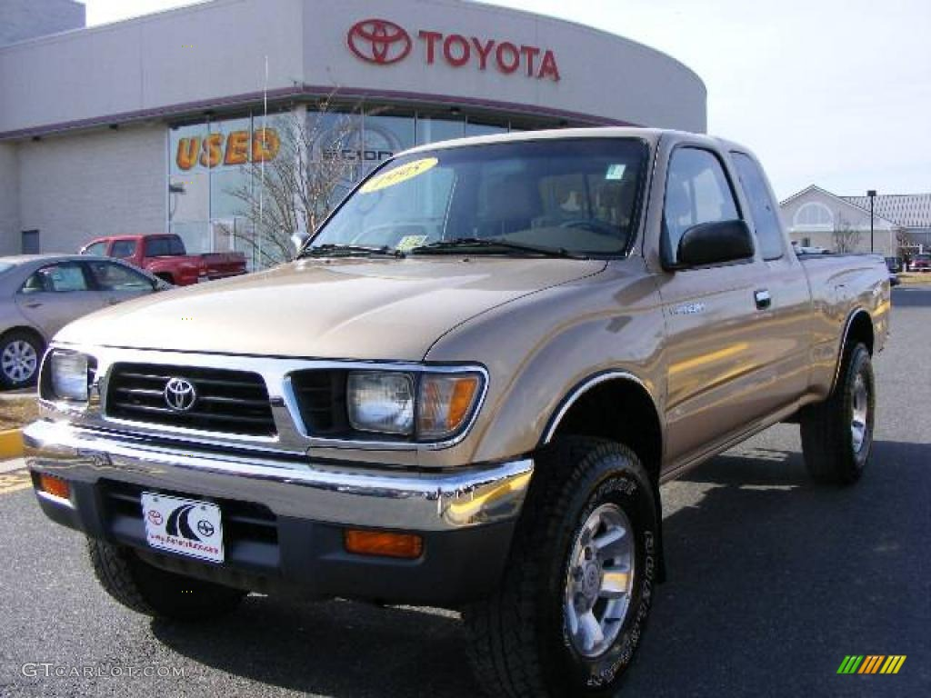 1995 Sierra Beige Metallic Toyota Tacoma V6 Extended Cab 4x4 6570013 Car Color