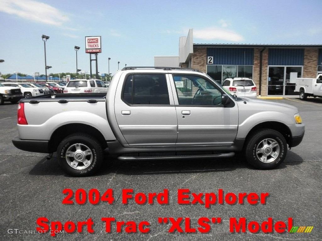 2004 silver birch metallic ford explorer sport trac xls 65853674 car color. Black Bedroom Furniture Sets. Home Design Ideas