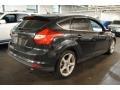2012 Tuxedo Black Metallic Ford Focus Titanium 5-Door  photo #5
