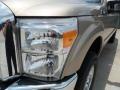 2012 Pale Adobe Metallic Ford F250 Super Duty XLT Crew Cab 4x4  photo #9