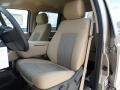 2012 Pale Adobe Metallic Ford F250 Super Duty XLT Crew Cab 4x4  photo #26