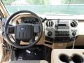 2012 Pale Adobe Metallic Ford F250 Super Duty XLT Crew Cab 4x4  photo #28