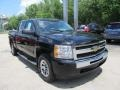 2011 Black Chevrolet Silverado 1500 LS Crew Cab 4x4  photo #5