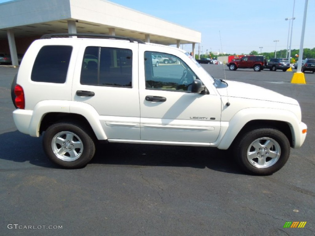 stone white 2002 jeep liberty limited exterior photo. Black Bedroom Furniture Sets. Home Design Ideas