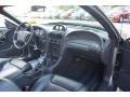 Black Saleen Recaro 2002 Ford Mustang Saleen S281 Supercharged Coupe Dashboard