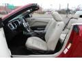 2011 Red Candy Metallic Ford Mustang V6 Convertible  photo #10