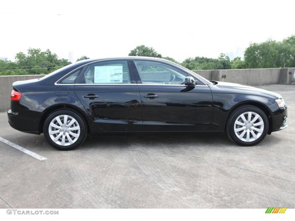 brilliant black 2013 audi a4 20t sedan exterior photo