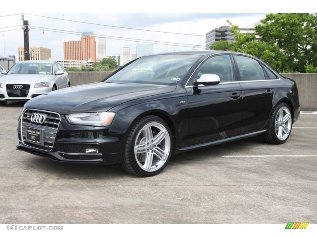 phantom black pearl effect 2013 audi s4 30t quattro sedan
