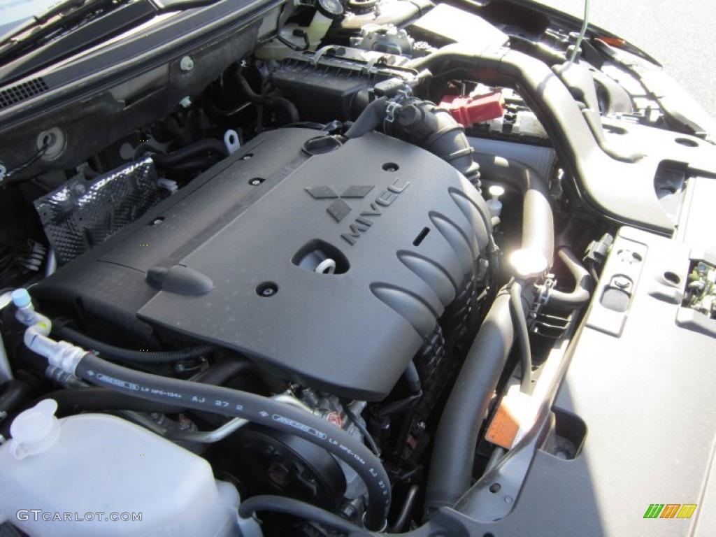 2012 Mitsubishi Lancer Se Awd 2 4 Liter Dohc 16 Valve Mivec 4 Cylinder Engine Photo 65932064