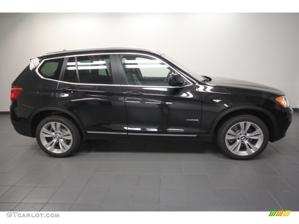 black sapphire metallic 2013 bmw x3 xdrive 35i exterior. Black Bedroom Furniture Sets. Home Design Ideas