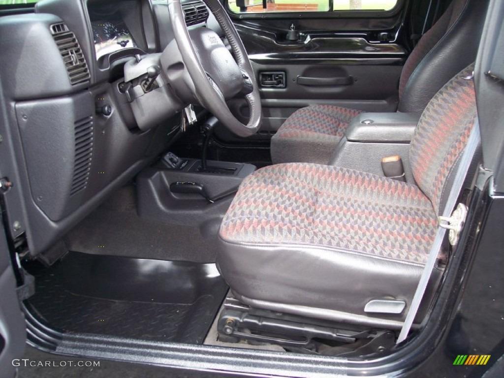 2000 Jeep Wrangler Sport 4x4 Interior Photo #65948963