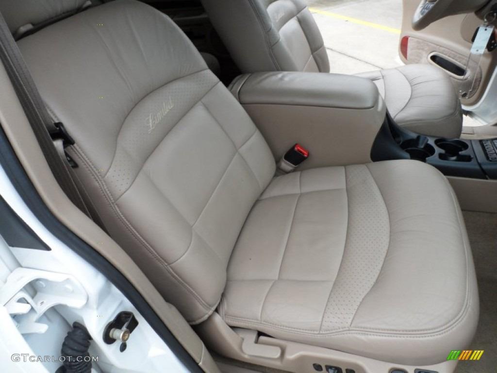 Medium Prairie Tan Interior 2000 Ford Explorer Limited Photo #65958113