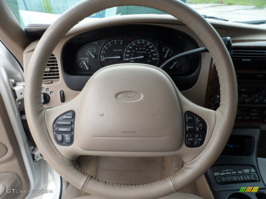 2000 Ford Explorer Limited Steering Wheel Photos