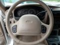 Medium Prairie Tan 2000 Ford Explorer Limited Steering Wheel