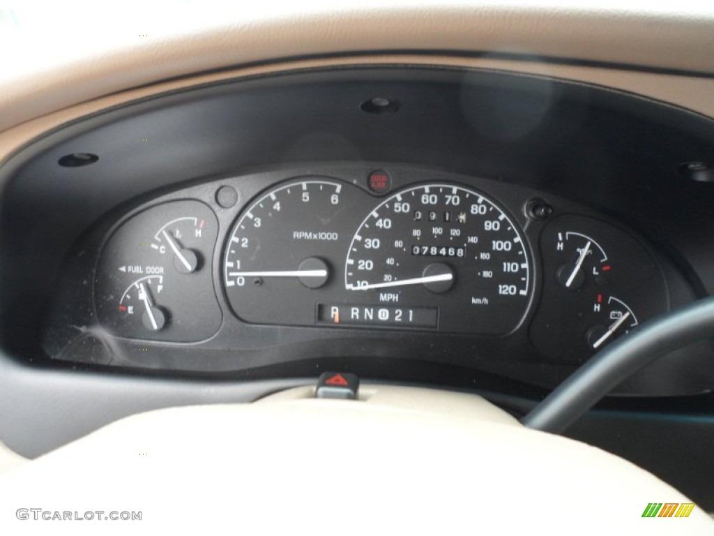 2000 Ford Explorer Limited Gauges Photos