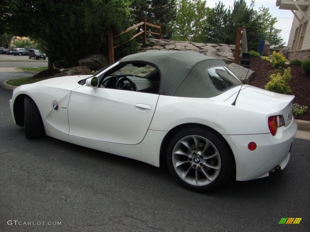 Alpine White 2003 Bmw Z4 2 5i Roadster Exterior Photo 65977149 Gtcarlot Com