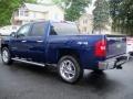 2012 Blue Topaz Metallic Chevrolet Silverado 1500 LT Crew Cab 4x4  photo #7