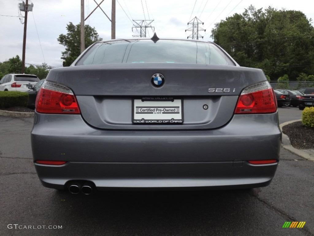Space Grey Metallic BMW Series Xi Sedan Photo - 2009 bmw 528xi