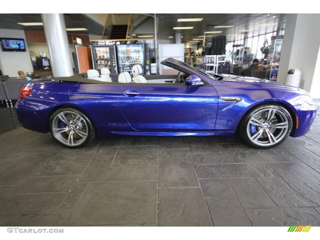 2012 San Marino Blue Metallic Bmw M6 Convertible 65970752 Photo 2 Gtcarlot Com Car Color Galleries