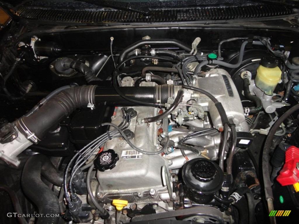 1998 Toyota Tacoma Regular Cab 4x4 2 7 Liter Dohc 16 Valve