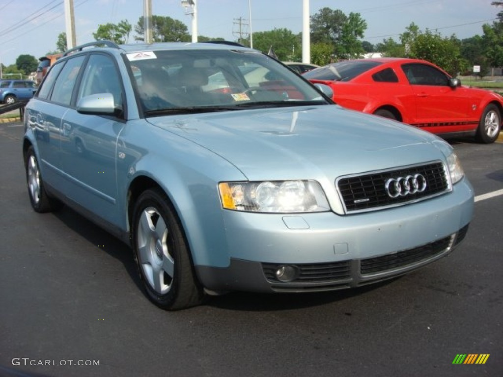 2002 crystal blue metallic audi a4 1 8t quattro avant 65971094 photo 11 car. Black Bedroom Furniture Sets. Home Design Ideas