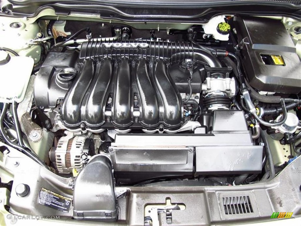 2008 Volvo S40 2.4i 2.4L DOHC 20V VVT Inline 5 Cylinder Engine Photo