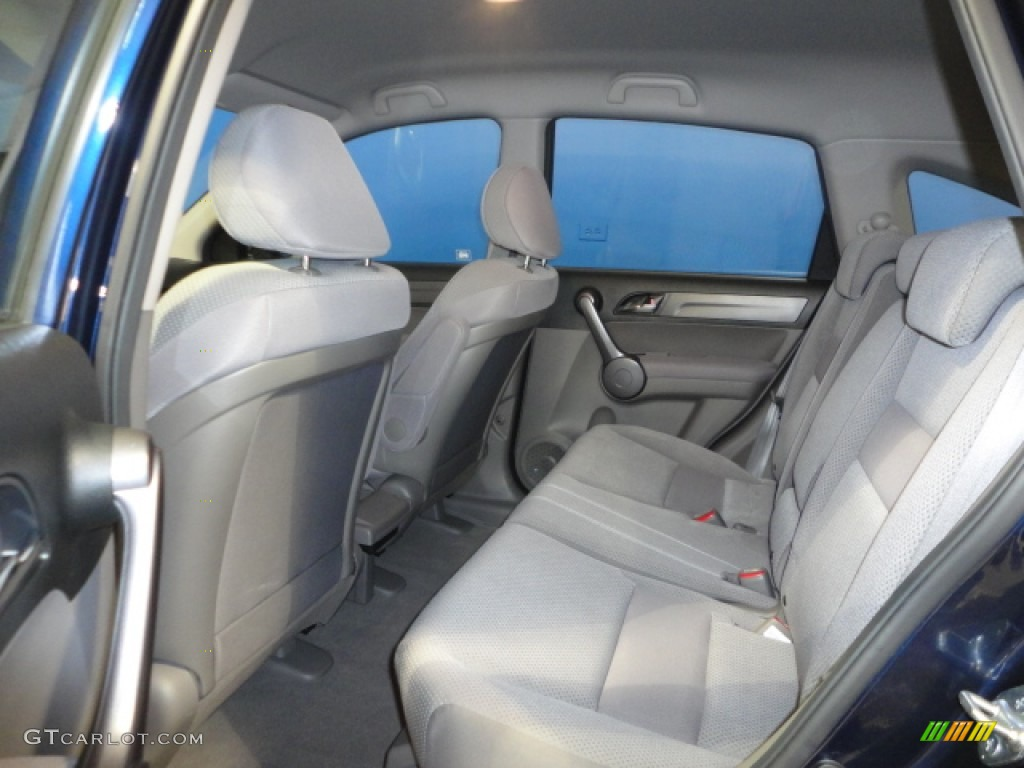2008 CR-V LX 4WD - Royal Blue Pearl / Gray photo #16
