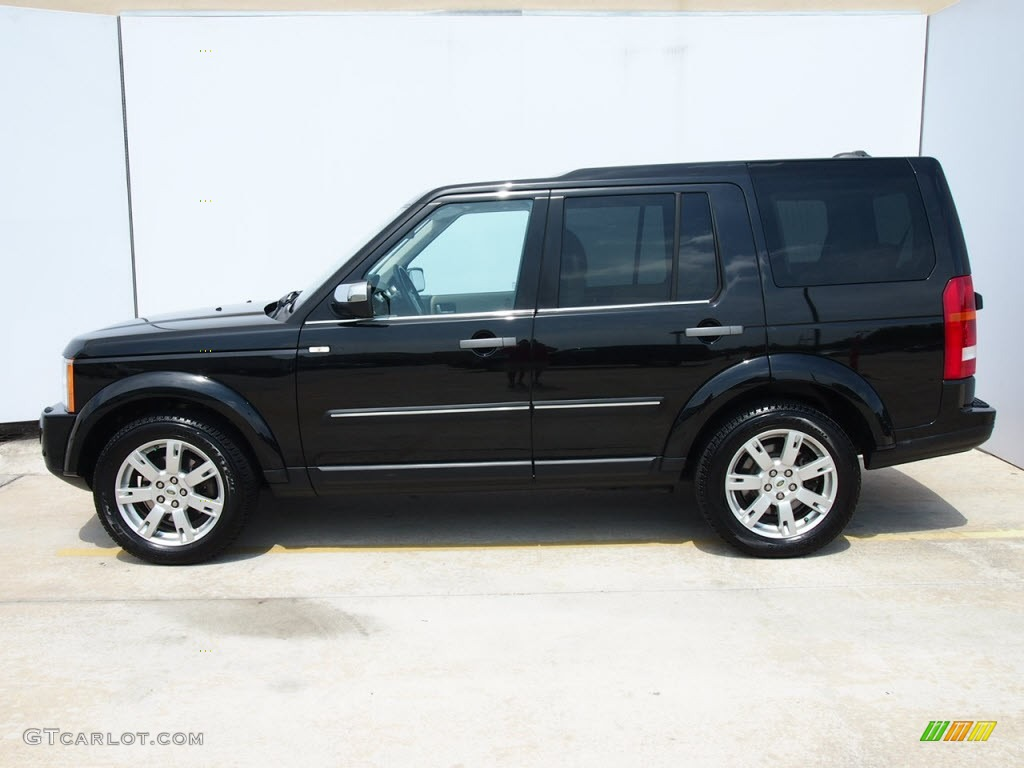 santorini black metallic 2009 land rover lr3 hse exterior. Black Bedroom Furniture Sets. Home Design Ideas