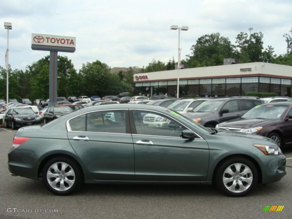 2010 mystic green metallic honda accord ex l v6 sedan 65970647 car color galleries. Black Bedroom Furniture Sets. Home Design Ideas