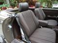 1987 SL Class 560 SL Roadster Brown Interior