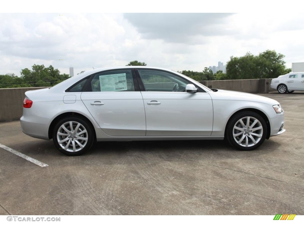 Ice Silver Metallic 2013 Audi A4 2.0T Sedan Exterior Photo #66013512