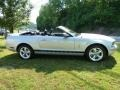 2007 Satin Silver Metallic Ford Mustang V6 Premium Convertible  photo #2