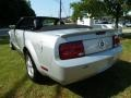 2007 Satin Silver Metallic Ford Mustang V6 Premium Convertible  photo #5