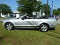 2007 Satin Silver Metallic Ford Mustang V6 Premium Convertible  photo #6