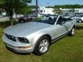 2007 Satin Silver Metallic Ford Mustang V6 Premium Convertible  photo #7