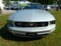 2007 Satin Silver Metallic Ford Mustang V6 Premium Convertible  photo #8