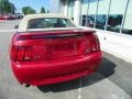 2001 Laser Red Metallic Ford Mustang GT Convertible  photo #5