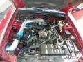 2001 Laser Red Metallic Ford Mustang GT Convertible  photo #15