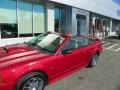 2001 Laser Red Metallic Ford Mustang GT Convertible  photo #20