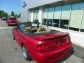 2001 Laser Red Metallic Ford Mustang GT Convertible  photo #21