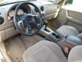 Taupe 2002 Jeep Liberty Interiors