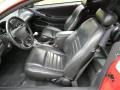 Black Roush Sport Leather Interior Photo for 2002 Ford Mustang #66025527