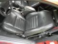 Black Roush Sport Leather 2002 Ford Mustang Roush Stage 3 Coupe Interior Color