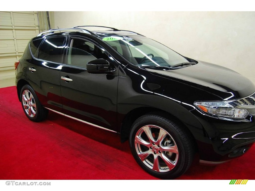 2012 super black nissan murano le platinum edition awd 65970522 super black nissan murano vanachro Gallery