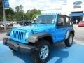 2011 Cosmos Blue Jeep Wrangler Rubicon 4x4  photo #1