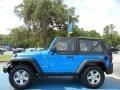 2011 Cosmos Blue Jeep Wrangler Rubicon 4x4  photo #2